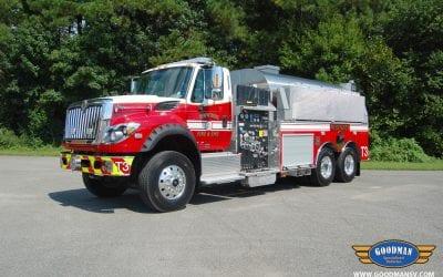 Dinwiddie Fire & EMS Elliptical Tanker
