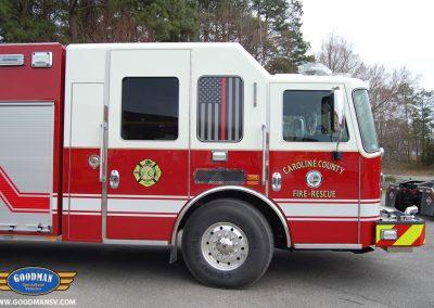 Caroline County Fire Truck Cab