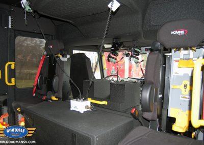 Caroline County Fire Truck Seats