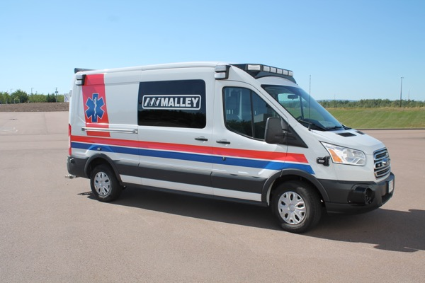 2019 Malley Ford Transit Ambulance