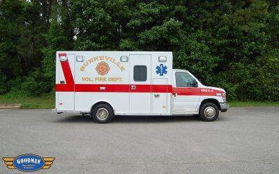 Burkeville Volunteer Fire 2017 Ford E450